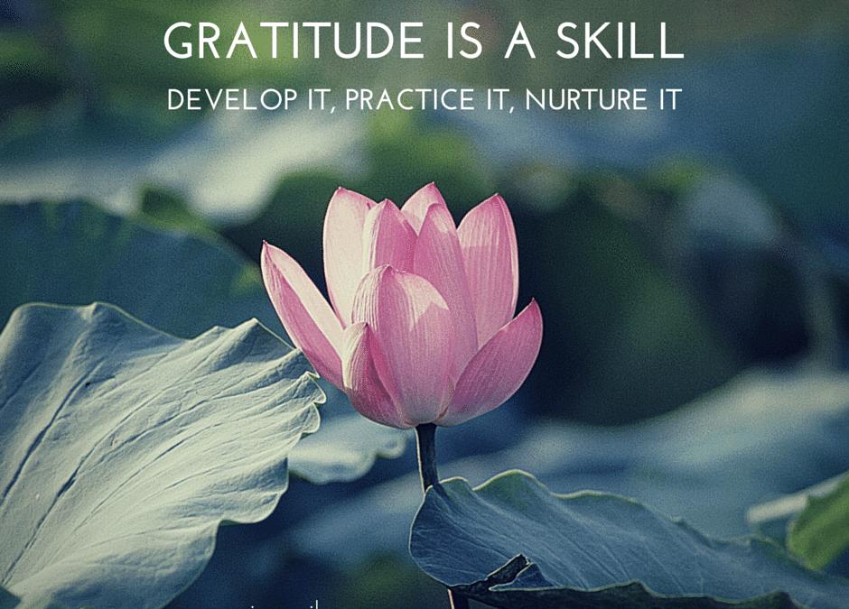 How's your gratitude attitude?